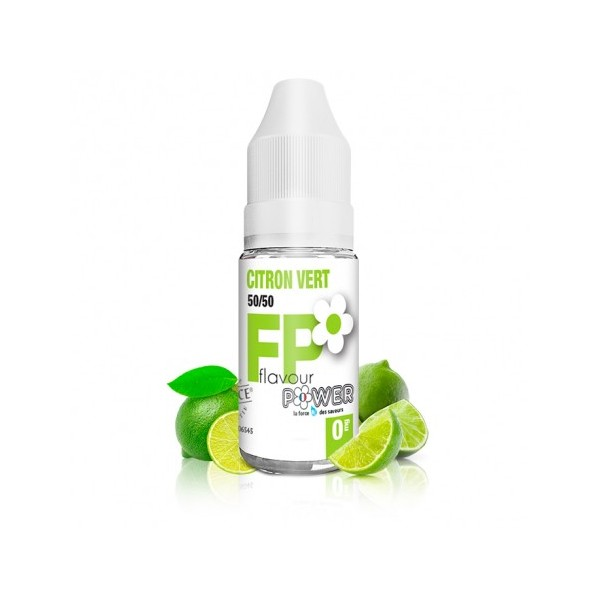 Citron Vert  50/50 - 10 ml - FLAVOUR POWER