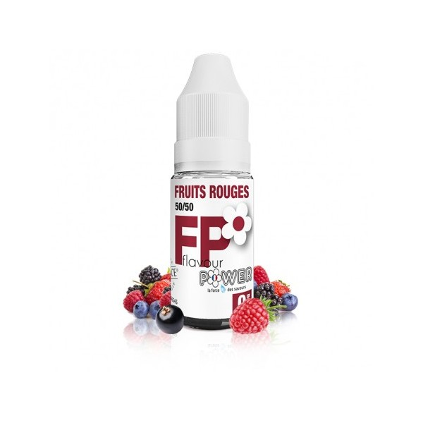 Fruits Rouges 50/50 - 10 ml - FLAVOUR POWER