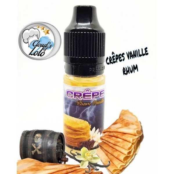 Crêpe Rhum Vanille by Cloud's of Lolo